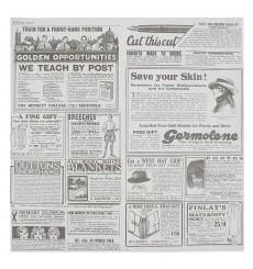 Carta Antigrasso Times 28x33cm (4000 Pezzi)