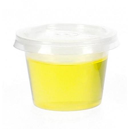 Bicchiere Coppetta Salse PP 33 ml con Coperchio (3000 Pezzi)