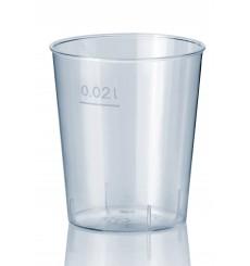 Bicchiere Plastica Rigida Chupito PS 20 ml (50 Pezzi)