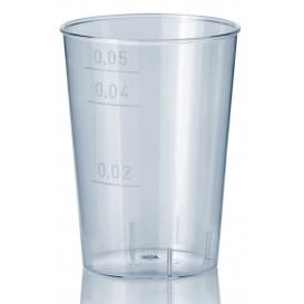 Bicchiere di Plastica Rigida Trasparente 50 ml (1600 Pezzi)
