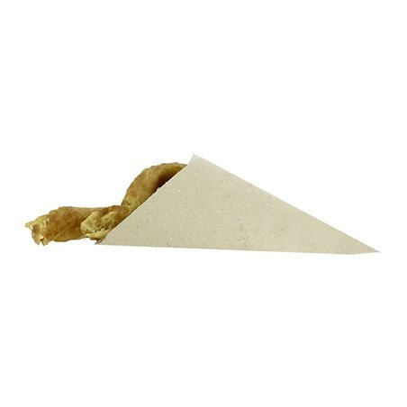 Cono di Carta Marrone 240mm 100g (2.000 Pezzi)