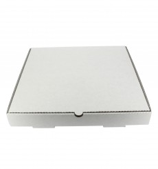 Scatola Cartone Bianca 30x30x3,5 cm (100 Pezzi)