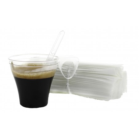 Palette Imbustate Caffè105mm Transp. (50 Pezzi)