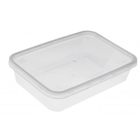 Contenitori di Plastico Rettangolare PP 500ml (50 Pezzi)