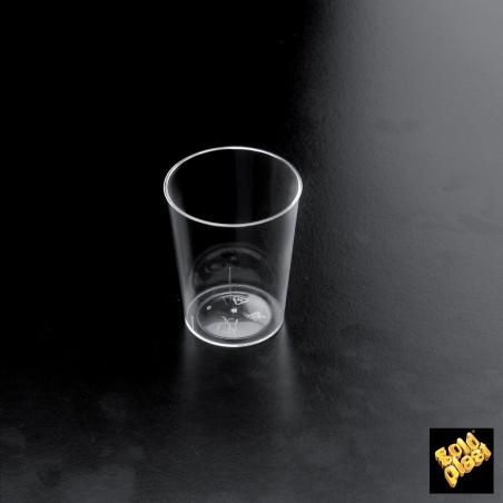 "Vaso Plastico per Liquore ""Conical"" Transparente 50 ml  (500 Pezzi)"