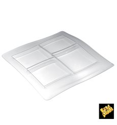 Vassoio Food Poker 4 Scomp. 360x360mm (1 Pezzi)