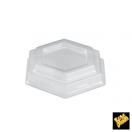 Coperchio Piatto Croce Bicchiere PET 8 Oz/250ml Ø7,0cm (50 Pezzi)