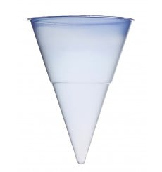 Cone di Plastica PP Blu 115 ml per Acqua (200 Pezzi)