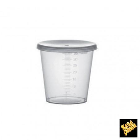 Coperchio Cupola Buco per Bicchieri PET 9 Oz/265ml Ø7,5cm (900 Pezzi)