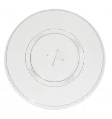Coperchio Piatto Croce Bicchiere PET 420ml Ø9,3cm (100 Pezzi)