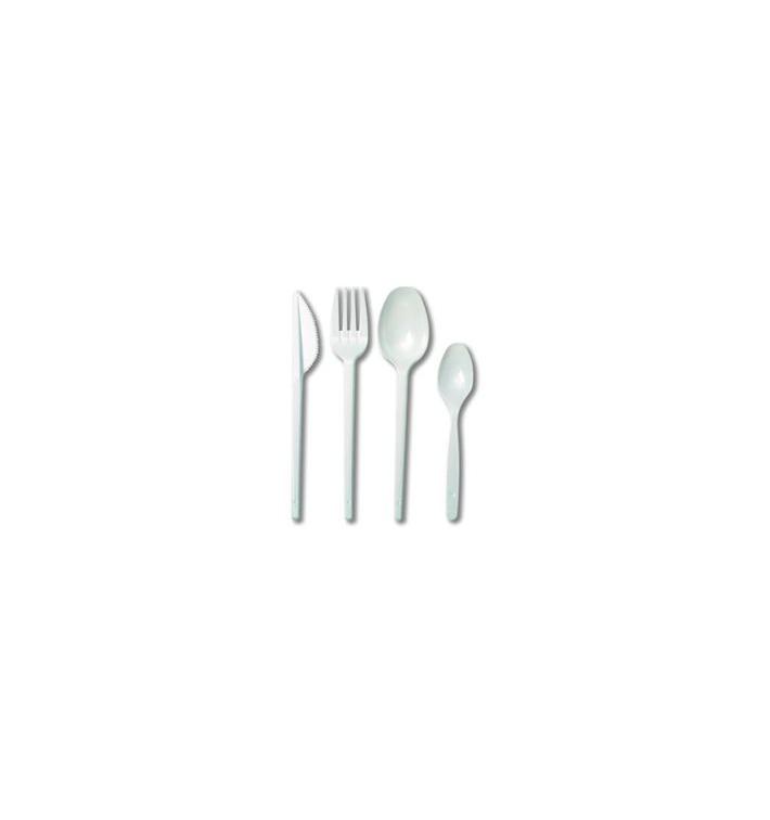 Set Posate Plastica Forchetta,Coltello,Cucchiaio,Cucchiaino (25 Pezzi)