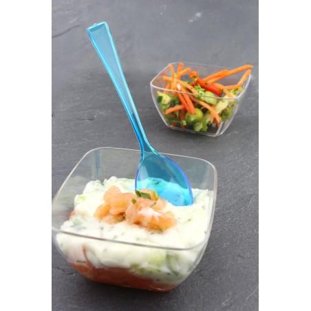 Cucchiaio di Plastica Premium Turchese 160mm (250 Pezzi)