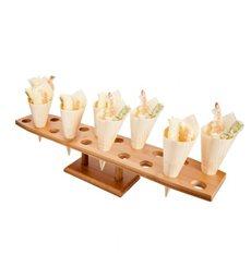 Stand di Bambu per Cono 20 Bucos (8 Unità)