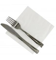 Tovagliolo di Carta 30x30 2 Velis Bianco (100 Pezzi)