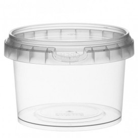 Coppette Plastico tondo inviolabile 280ml Ø9,5 (95 Pezzi)