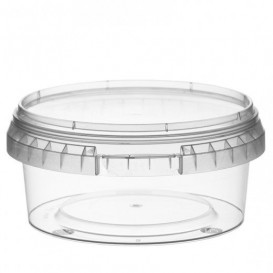 Coppette Plastico tondo inviolabile 300ml Ø11,8 (187 Pezzi)