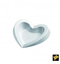 """Piatto di Plastica """"Free"""" Degustazione Bianco 15ml (50 Pezzi)"""