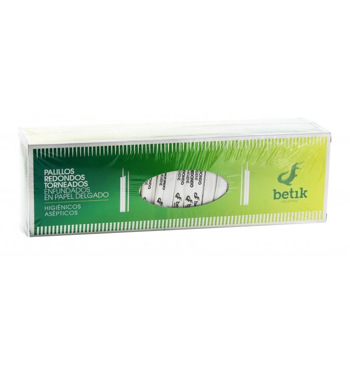 Stuzzicadenti Legno Tornitura Rivestiti Carta 65mm (1 Pezzi)