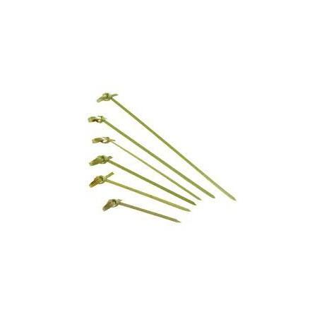 Spiedi di Bambu Decorato Cappio 180mm (100 Pezzi)