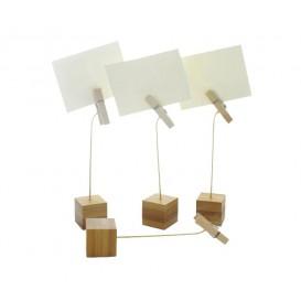 Supporto per Carte di Bambu 130mm (144 Pezzi)