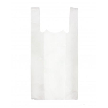 Sacchetto di Plastica Canottiera 25x30cm Bianca (200 Pezzi)