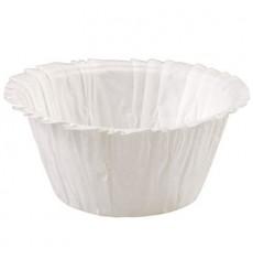 Cápsulas para Cupcakes Blancas 4,9x3,8x7,5cm (90 Unidades)