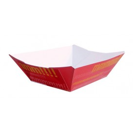Vaschetta 350ml Carta 10,6x7,3x4,5cm (25 Pezzi)