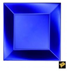 Piatto Plastica Piano Blu Nice Pearl PP 290mm (144 Pezzi)