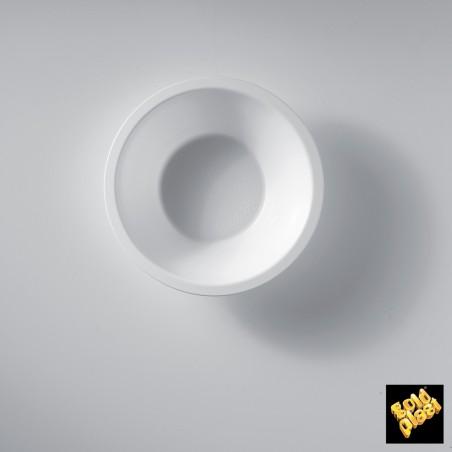 Ciotola di Plastica Bianco Ø155mm 450ml (300 Pezzi)