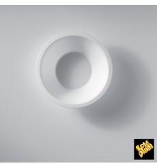 Ciotola di Plastica PP Bianco 450ml Ø15,5cm (50 Pezzi)