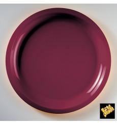 Piatto di Plastica Bordo Round PP Ø290mm (300 Pezzi)