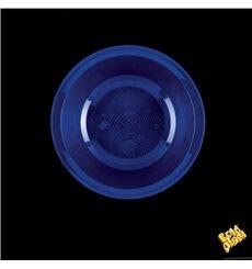 Piatto di Plastica Fondo Blu Round PP Ø195mm (600 Pezzi)