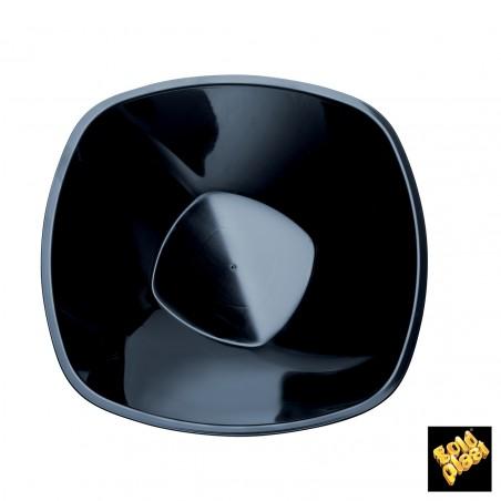 Ciotola di Plastica Nero Ø210mm 1250ml (3 Pezzi)