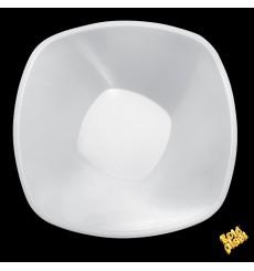 "Ciotola Plastica PP Bianco ""Square"" 3000ml Ø27,7cm (30Pezzi)"