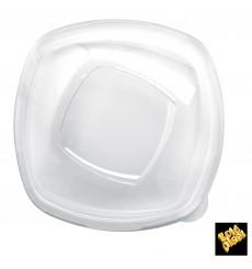 """Coperchio di Plastica PET Glas """"Square"""" Ø21cm (60 Pezzi)"""