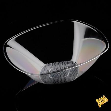 Ciotola di Plastica Transparent Ø210mm PS 1250ml (30 Pezzi)
