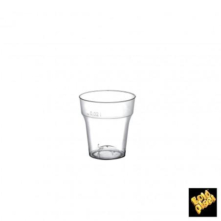 Bicchiere Plastica Cicchetto Transp. PS 20 ml (1000 Pezzi)