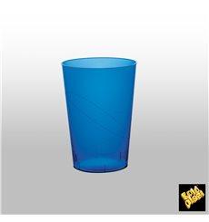 Bicchiere di Plastica Moon Blu Trasp. PS 230ml (1000 Pezzi)