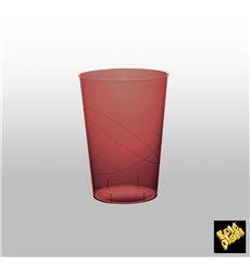 Bicchiere di Plastica Moon Bordeaux Trasp. PS 230ml (35 Pezzi)