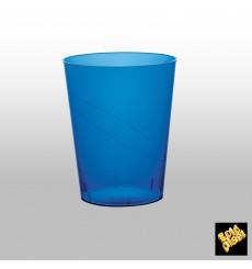 Bicchiere di Plastica Moon Blu Trasp. PS 350ml (400 Pezzi)