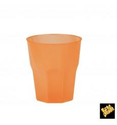 """Bicchiere Plastica """"Frost"""" Arancione PP 270 ml (20 Pezzi)"""