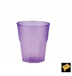 """Bicchiere Plastica """"Frost"""" Lilla PP 270 ml (420 Pezzi)"""