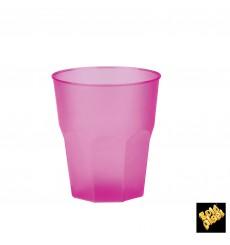 """Bicchiere Plastica """"Frost"""" Fucsia PP 270 ml (20 Pezzi)"""