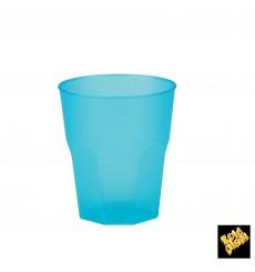 "Bicchiere Plastica ""Frost"" Turchese PP 270 ml (20 Pezzi)"