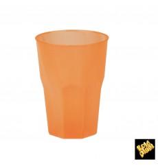 """Bicchiere Plastica""""Frost"""" Arancione PP 350ml (20 Pezzi)"""