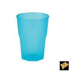 "Bicchiere Plastica ""Frost"" Turchese PP 350ml (20 Pezzi)"