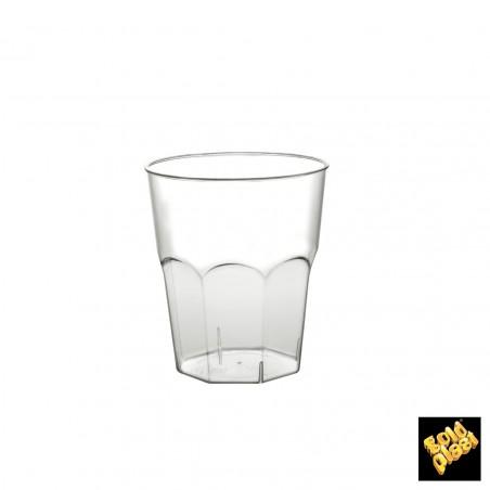 Bicchiere Plastica Cocktail Transp. PS Ø37mm 220ml (50 Pezzi)