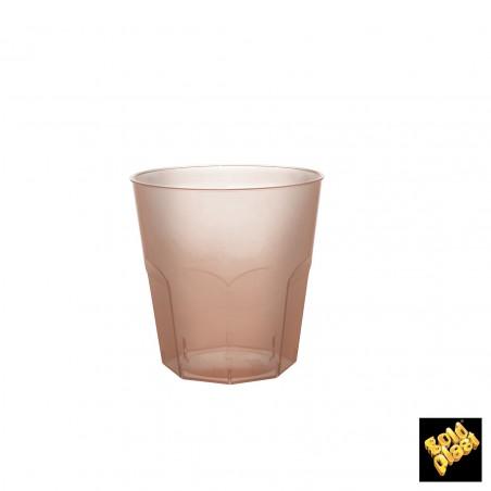 Bicchiere Plastica Fucsia Transp. PS Ø73mm 220ml (50 Pezzi)