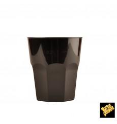 Bicchiere Plastica Cocktail Nero PP Ø84mm 270ml (420 Pezzi)