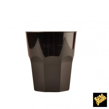 Bicchiere Plastica Cocktail Bianco PP Ø84mm 270ml (20 Pezzi)